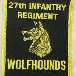 27th Regiment Rectangle Patch